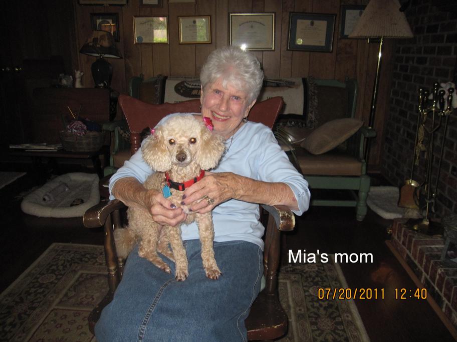 Mia and Mom